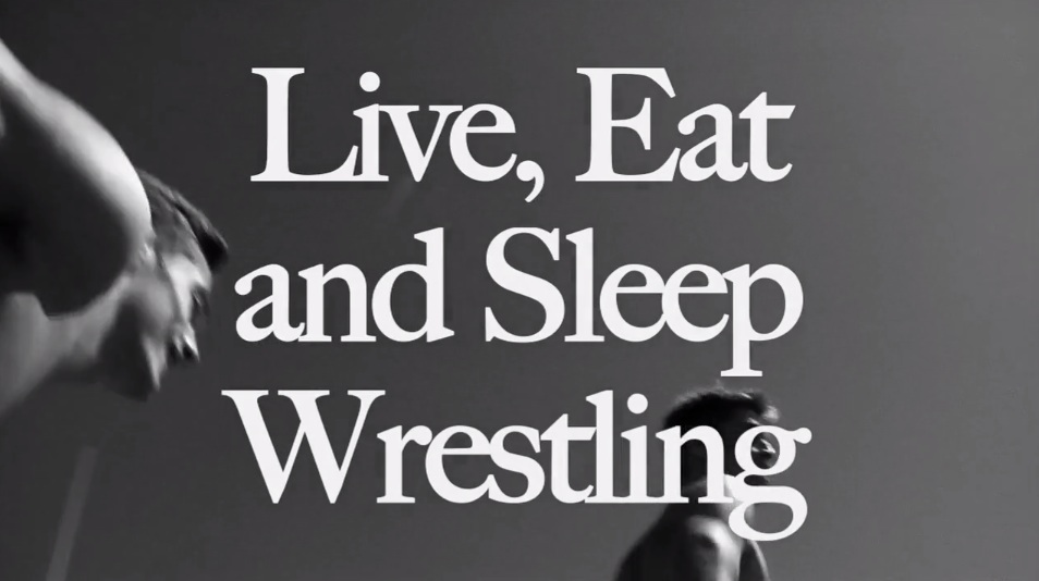 Live Eat and Sleep Wrestling - Abercrombie & Fitch Wrestling Videos