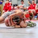 Wrestlers on the matt