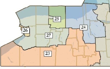 Proposed New York Cogressional District 23