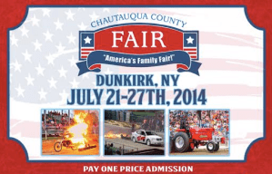 2014 Chautauqua County Fair Begins Monday in Dunkirk