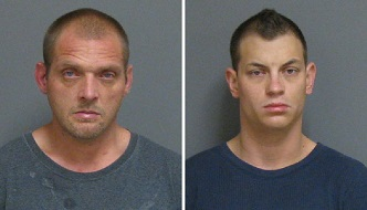 Arrested on Wednesday, Oct. 22 following separate drug raids in the city were Richard Dean, 38 (left) and Beau Jones, 30.