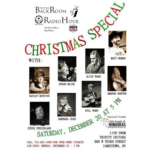 back room radio hour - christmas