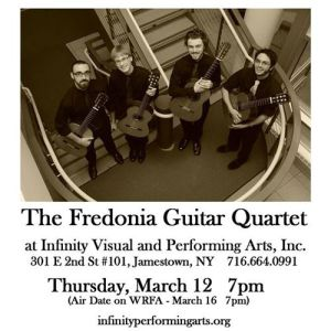 [LISTEN] Arts on Fire – Jim Piorkowski and Jim Holler Talk Fredonia Guitar Quartet