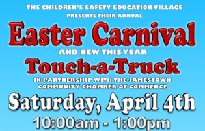 Safety Village to Host Easter Carnival, Touch-A-Truck on Saturday