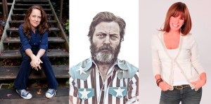 Offerman, Rivers & Carlin Join Seinfeld At 2015 Lucille Ball Comedy Festival