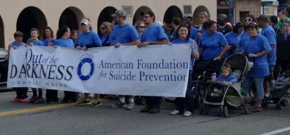 The 4th annual Jamestown area Suicide Prevention Walk is Saturday, Oct. 17, 2015.