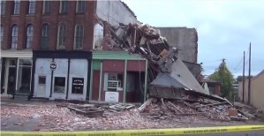 [WATCH] No Injuries Reported in Dunkirk Building Collapse