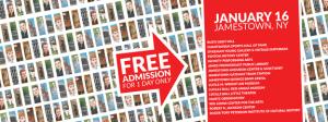 [LISTEN] Doors Open Jamestown 2016 Set for Saturday, Jan. 16
