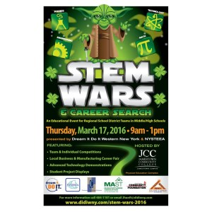 [LISTEN] Community Matters – Dream It, Do It STEM Wars 2016