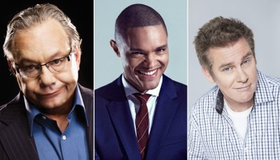 The 2016 Lucille Ball Comedy Festival Headliners: Lewis Black, Trevor Noah, and Brian Regan.