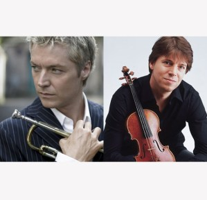 [LISTEN] Arts on Fire – WRFA Talks with Musicians Joshua Bell and Chris Botti
