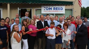 Local Republican's Cut Ribbon at Campaign Headquarters in Lakewood