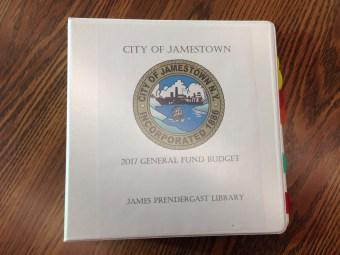 Jamestown 2017 Budget Book
