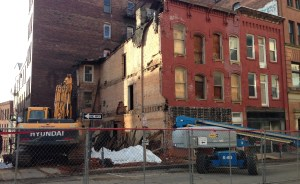 Despite Two Recent Partial Collapses, Buildings in Downtown Jamestown are in Stable Condition