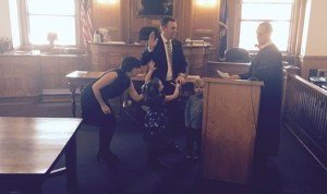 Swanson, Sullivan Officially Sworn into Office