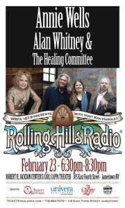 [LISTEN] Rolling Hills Radio Episode 61 – Annie Wells and Alan Whitney & The Healing Committee