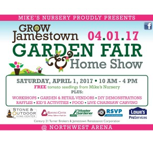 [LISTEN] Community Matters – 2017 Grow Jamestown Garden Fair and Home Show