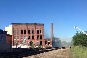 [LISTEN] Jamestown Mayor Sam Teresi Discusses Fire Near Arcade Building