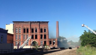 [LISTEN] Jamestown Mayor Sam Teresi Discusses Fire Near Arcade Building