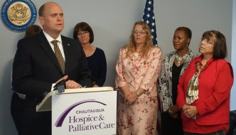 Congressman Tom Reed Visits Chautauqua Hospice and Palliative Care to Bring Attention to New Legislation