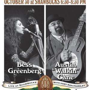 [LISTEN] Rolling Hills Radio Ep. 67 – Bess Greenberg and Austin 'Walkin' Cane