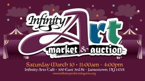 [LISTEN] Infinity Art Market and Auction is Saturday, March 10
