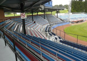 Lead Paint at Diethrick Park Adds $110,000 to Grandstand Project