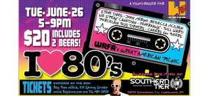 WRFA's 2018 Great American Picnic: I Love the 80s is Tuesday, June 26
