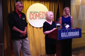 Gillibrand Uses NCC as Backdrop to Announce Increase in Historic Preservation Funding