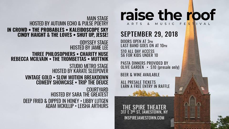 LISTEN] Spire Theater to Host 'Raise the Roof' Music and