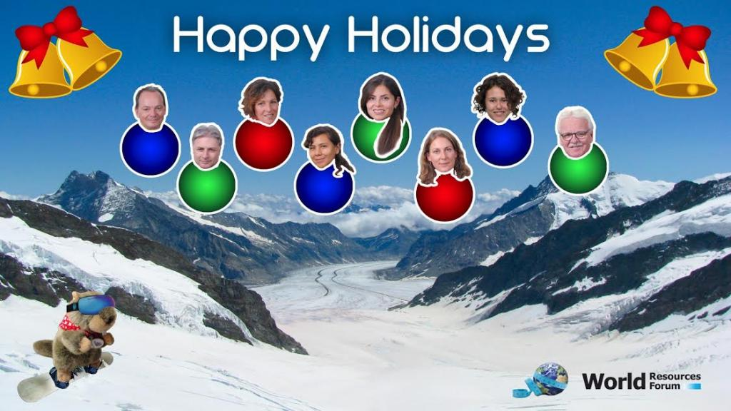 The World Resources Forum Wishes you Happy Holidays and a Wonderful New Year