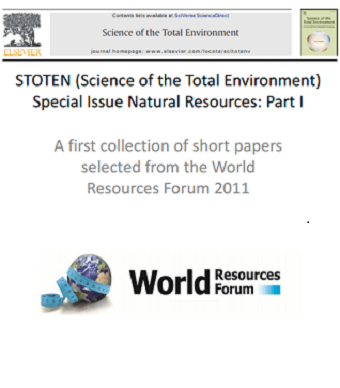Collection of short papers selected from WRF 2011 (STOTEN Special Issue on Natural Resources)
