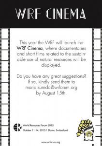 wrf cinema
