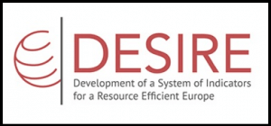 DESIRE logo resource-efficiency indicators