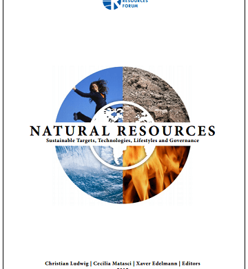 """Last Copies of """"NATURAL RESOURCES – Sustainable Targets, Technologies, Lifestyles and Governance"""" now for Sale"""