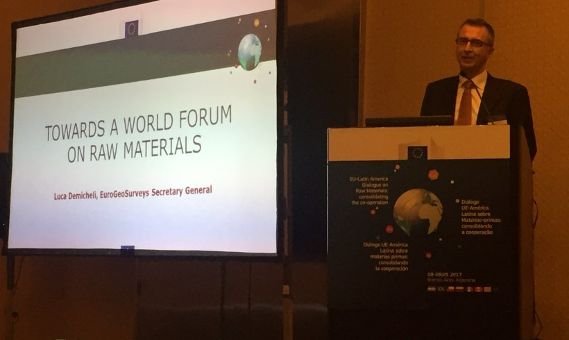 Growing FORAM Network Maps Activities on Raw Materials