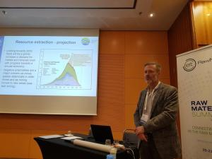 Peder Jensen at Raw Materials Summit FORAM