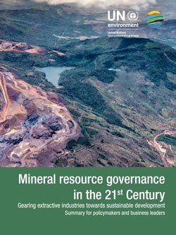 Mineral resource governance in the 21st Century