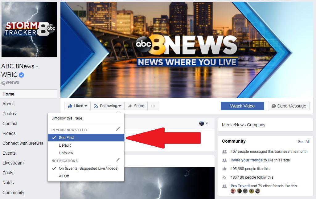 Less news in your Facebook feed: How to see the pages you want