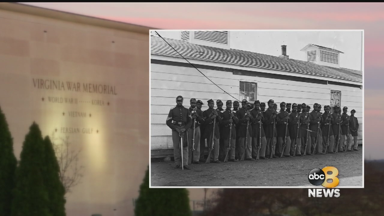 Virginia War Memorial honors African-American soldiers who fought for the Union during Civil War