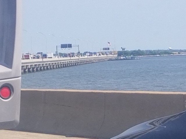 VIDEO: Vehicle fire halts traffic on Hampton Roads Bridge-Tunnel