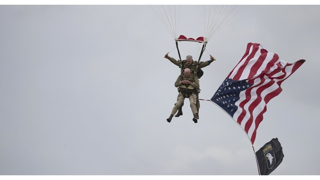 France D-Day Parachuting Over Normandy_1559822842969