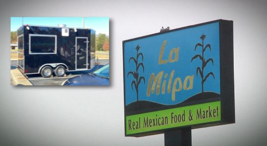 Police searching for stolen Virginia food truck