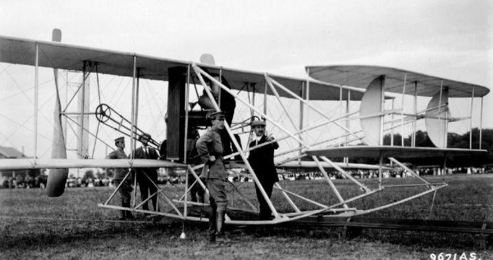 Resultado de imagen para orville wright plane crash