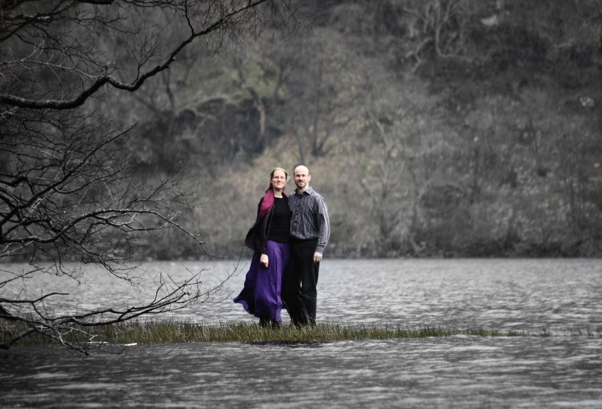 Bec & Donald at Ceann Mor, Loch Lomond