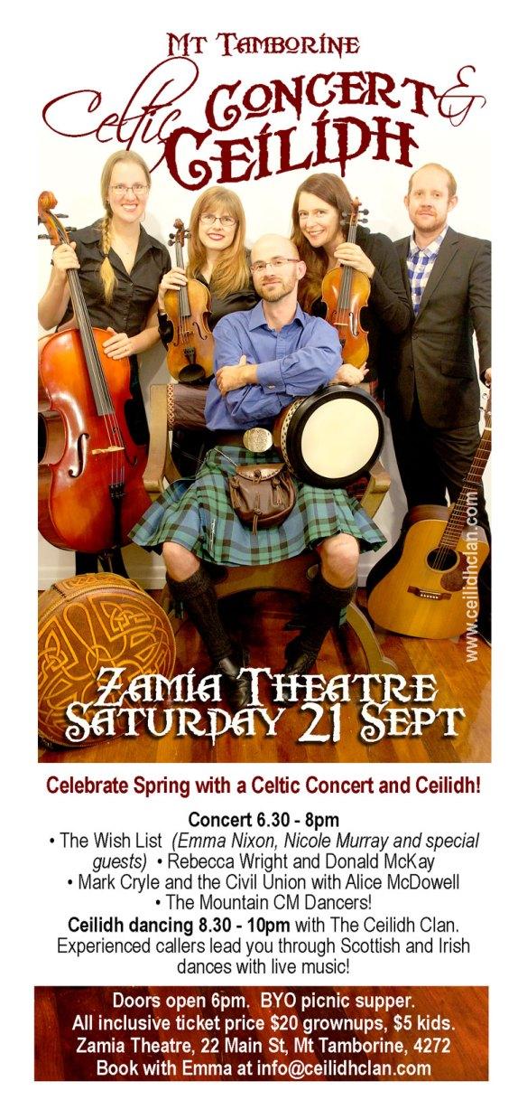 Tamborine-Ceilidh-Concert-flyer