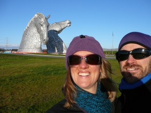 At the Kelpies - Falkirk
