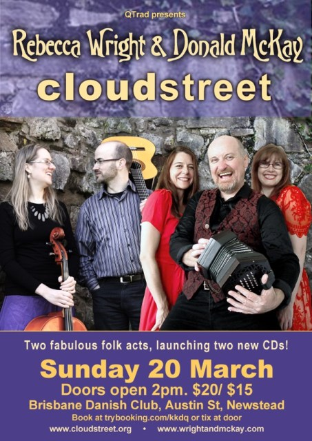 Double CD launch poster 2016