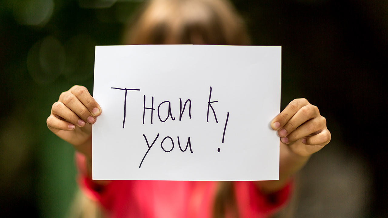 The Benefits Of A Simple Thank You Wright Brothers Inc