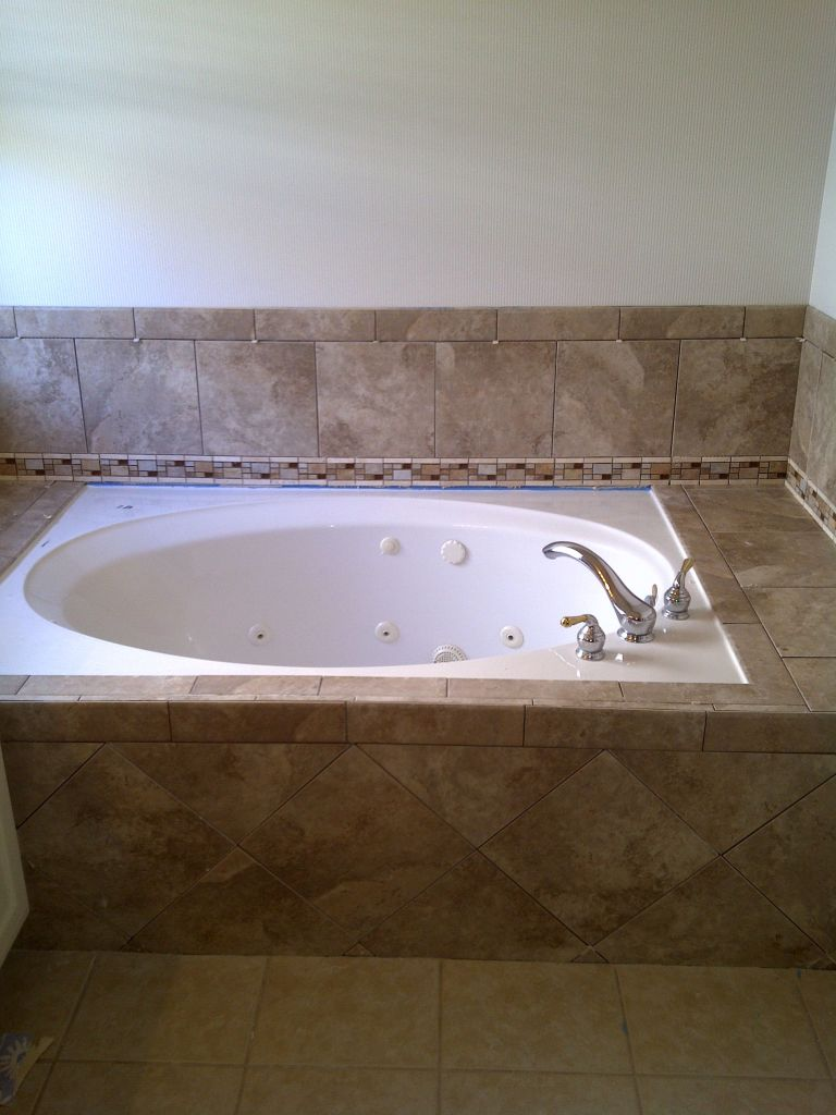 Bathroom Shower Tile Remodel PicturesWright Brothers Floor Company - Bathroom remodeling allen tx